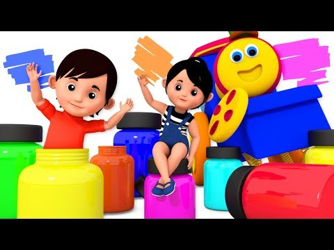 Color Song | Learning Street With Bob The Train | Kindergarten Nursery Rhyme For Children by Kids Tv