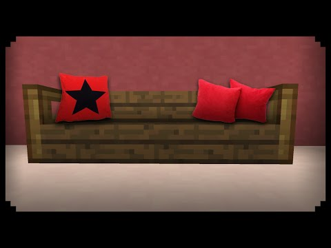 ✔ Minecraft: How to make a Sofa Pillow
