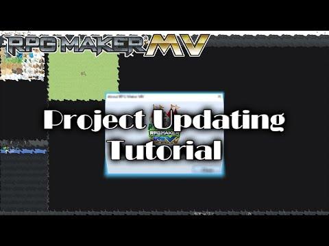 RPG Maker MV Tutorial - How to Update an MV Project