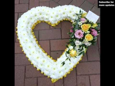 Funeral Flowers Heart Designs | Cushions & Hearts Collection