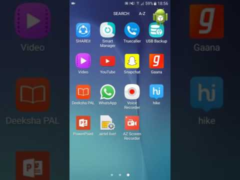 How to enlarge and shrink icons on android phones