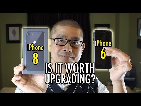 Is it worth upgrading to iPhone 8 from 6?