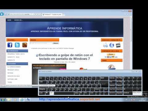 Windows 7 - Capturar una pantalla