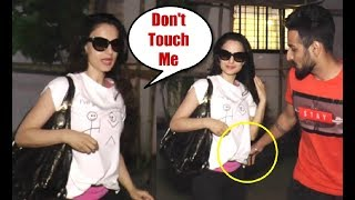 Ameesha Patel ANGRY On A Fan For Trying To Touch Her While Clicking Pics With Her