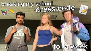Download breaking my schools dress code for a week Video