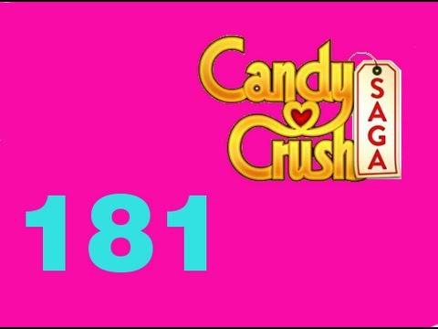 Candy Crush Saga Level 181 Livello 181