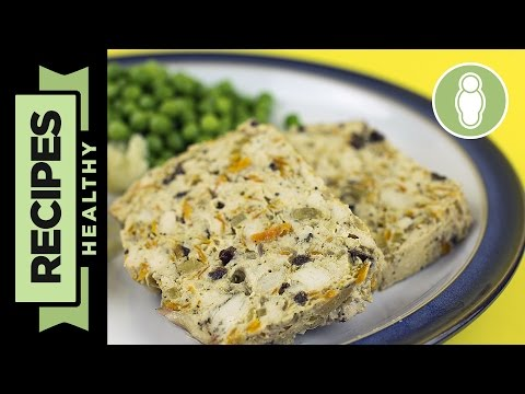 Turkey Meatloaf Recipe - With Apricots & Cranberries