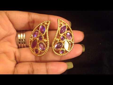 Jewelry declutter Vintage Earrings