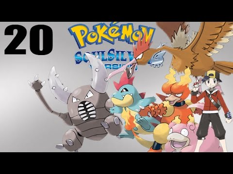 Let's Play Pokémon Soul Silver #20 - Quest for the King's Rock!