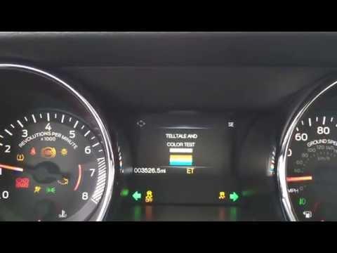 2015 Mustang - Digital Speedometer? Activating Engineering Test Mode