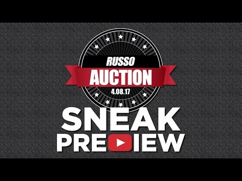 Used Equipment Auction 2017 - Sneak Preview