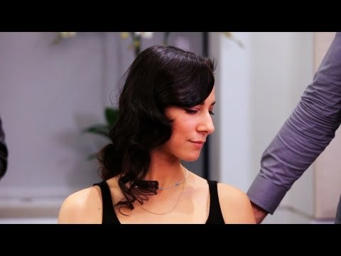 How to Finger Wave Long Hair   Long Hairstyles