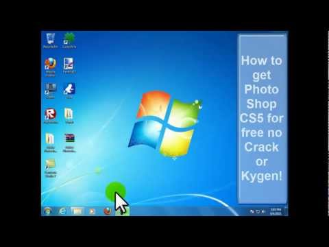 How to get Photoshop CS5 for free