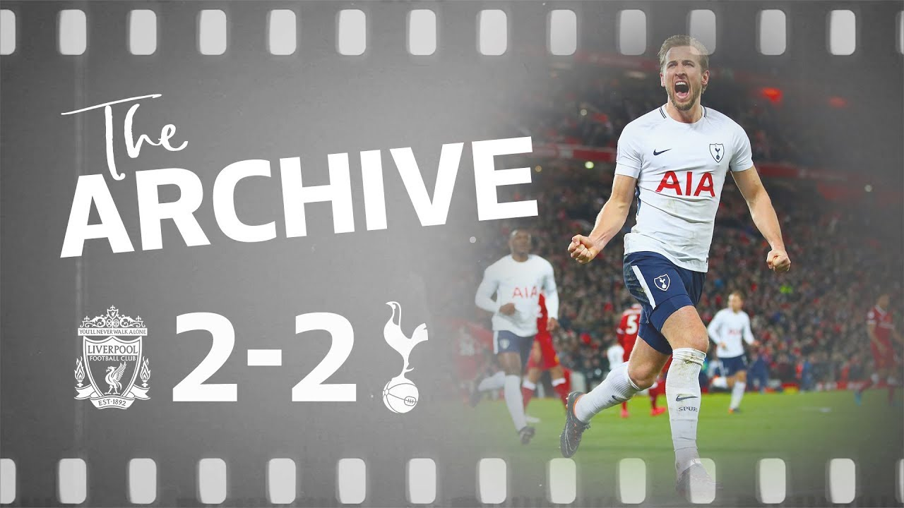 THE ARCHIVE   Liverpool 2-2 Spurs   Wanyama's rocket and Kane's 100th Spurs goal!