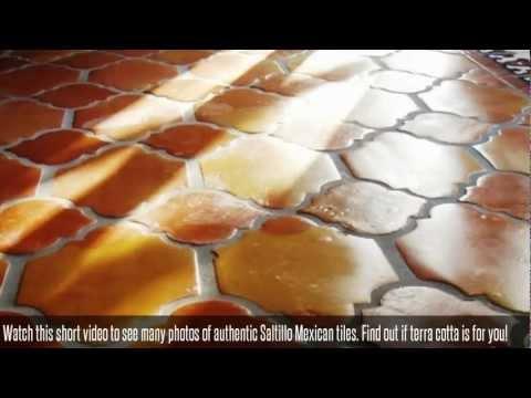 Traditional Saltillo Tile and Mexican Terra Cotta Tile