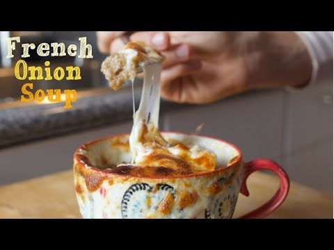 4 Ingredient French Onion Soup - College Cooking