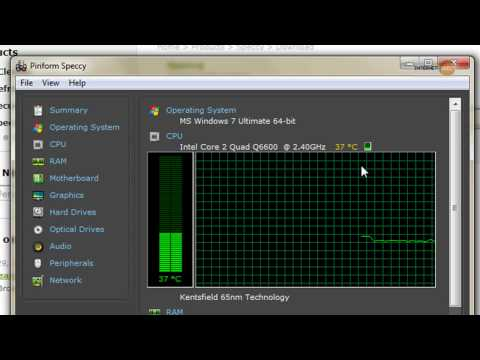 How to check your PC temperature, CPU, Graphics card & Hard Disks