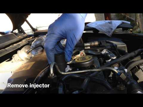 Ford Mondeo TDCI 2.0 Injector Removal