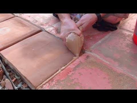 How to Grout Mexican Tile