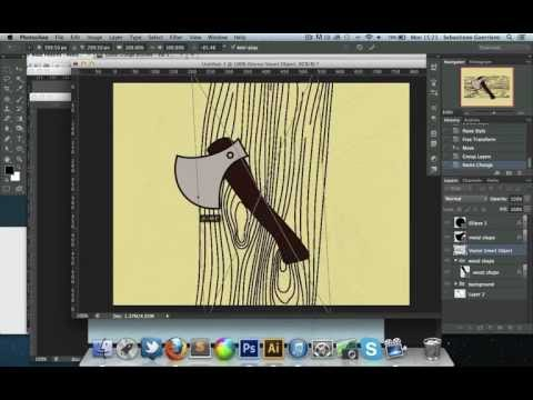 Create a Cartoon-Style Illustration in Photoshop