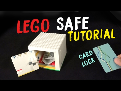 How to Build a LEGO Safe With Card Key V4