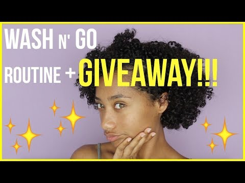 Perfect Wash n Go Routine + GIVEAWAY (CLOSED)  Tatyana Celeste ❤︎