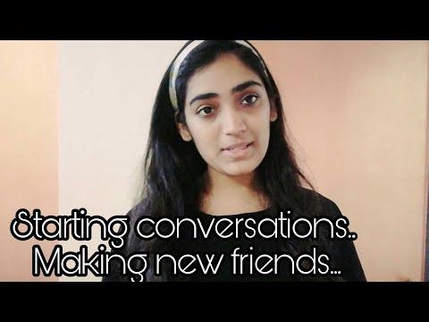 How To Make New Friends In College! - Jahnavi Pandya