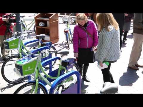 Boise GreenBike launches in Downtown Boise
