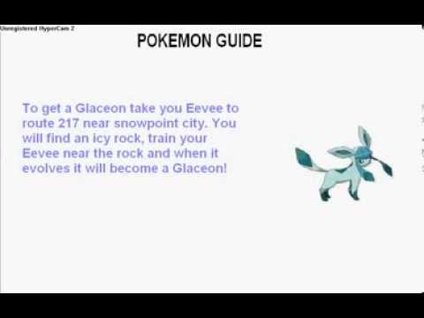 Eevee - how to get all seven evolutions