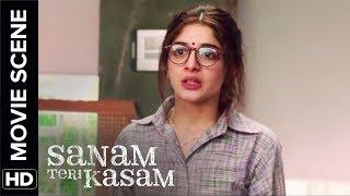 Misunderstanding between Mawra & her father   Sanam Teri Kasam   Movie Scene
