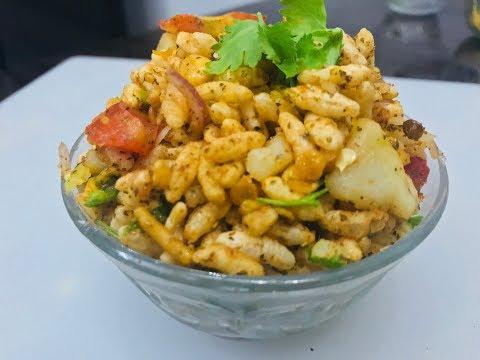 Bhel Puri Recipe - How To Make Bhel Puri - Jhatpat Bhelpuri in Hindi-भेल पूरी की विधि हिंदी में