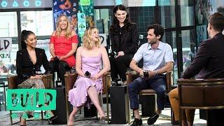 Penn Badgley, Shay Mitchell, Elizabeth Lail, Sera Gamble & Caroline Kepnes Talk Lifetime