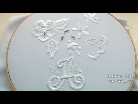 ВЫШИВКА МОНОГРАММЫ  \   EMBROIDERY monogram