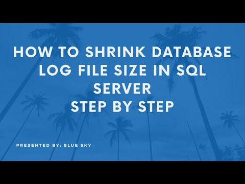 How to Shrink Database Log File Size in SQL Server - Step-by-Step