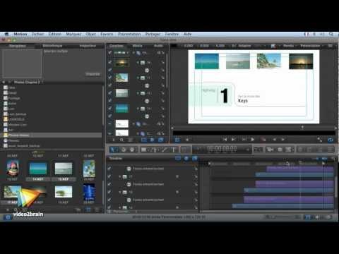 Motion 5 : La création de menus DVD Studio Pro avec Motion 5
