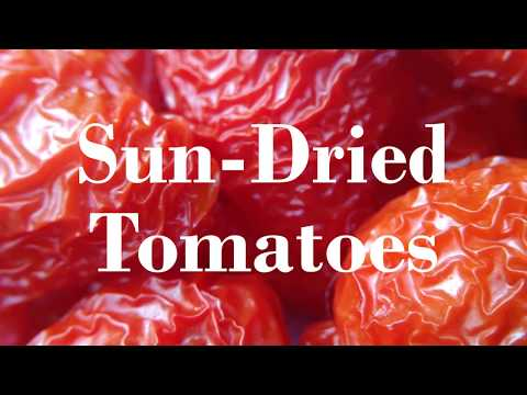 Real Sun-Dried Tomatoes! Home-Made in the Garden