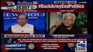 Indian media bashing Om Puri