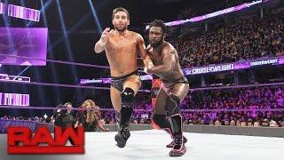 Rich Swann vs. Noam Dar: Raw, Jan. 23, 2017