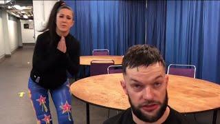 Bayley strives to get Finn Bálor