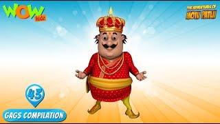 Motu Patlu - Funny Gags #43 - 1 hour episodes!
