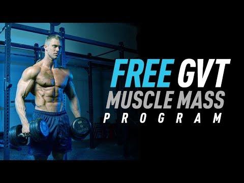 German Volume Training - Free Muscle Mass Program
