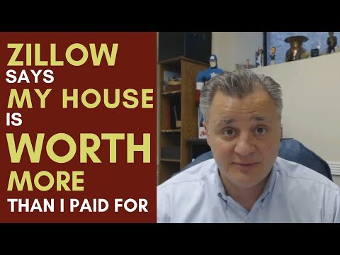Mentorship Monday 089 - Zillow Says My House is Worth More than I Paid For It