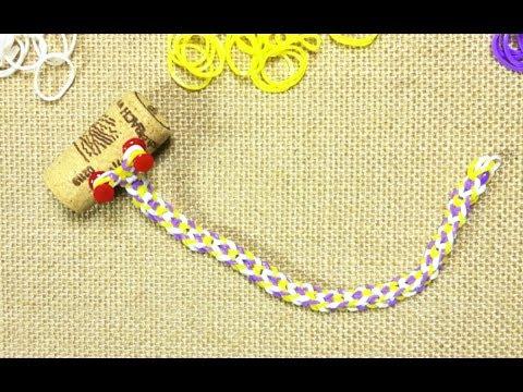 How to Make an Inverted Fishtail Rainbow Loom Bracelet (DIY Tutorial)