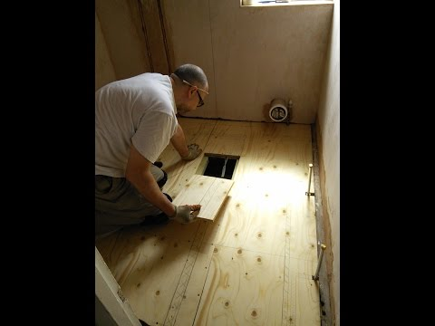 DIY: How to install a new plywood floor