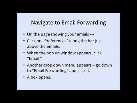Forward Comcast Emails - How To