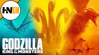 NEW Mothra, Rodan, and Ghidorah Posters Revealed | Godzilla King of the Monsters