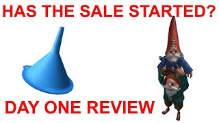 ROBLOX MEMORIAL DAY SALE 2020 DAY ONE REVIEW