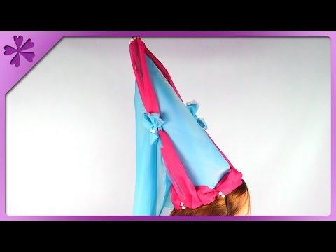 DIY Princess Cone Hat (ENG Subtitles) - Speed up #297