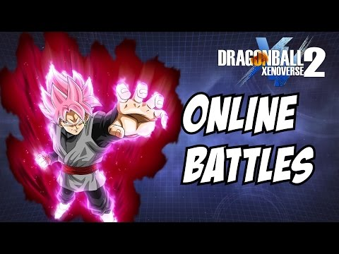 Dragon ball xenoverse 2 dlc 3 black goku super saiyan rose online battle 1v1 gameplay