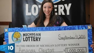 10 Lotto Winners That Lost It All | LIST KING